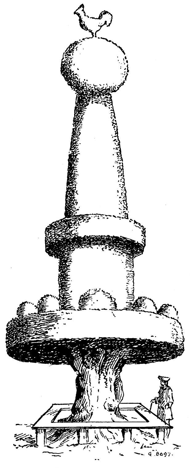 1700s topiary illustration