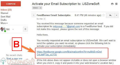 To Activate or Confirm Email Subscription- screen 2