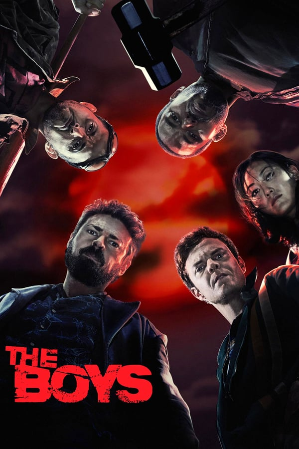 Descargar The Boys Temporada 1 Español Latino & Sub Español por MEGA