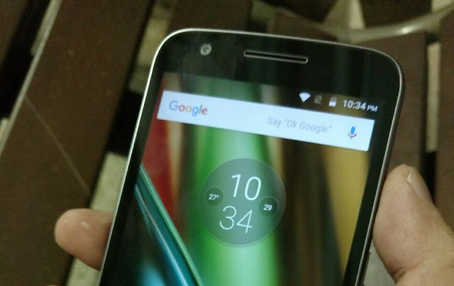 Moto E3 and E3 Power features a Notification LED instead of Moto Display