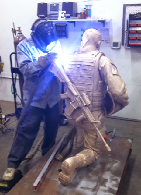 Remembering the Fallen welding