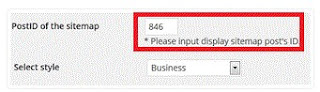 ps auto sitemap ID wordpress