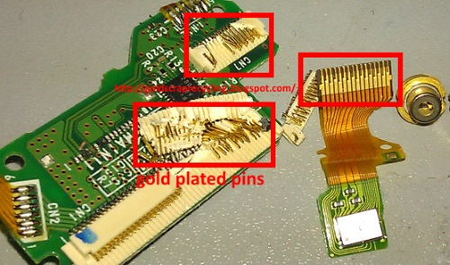 Circuit Board With Gold Plating Flickr Photo Sharing