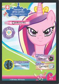 My Little Pony Princess Mi Amore Cadenza (AKA Queen Chrysalis) Series 1 Trading Card