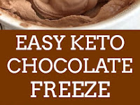 EASY KETO CHOCOLATE FROSTY
