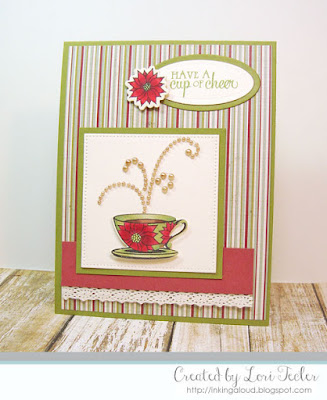 Have a Cup of Cheer card-designed by Lori Tecler/Inking Aloud-stamps from Verve Stamps