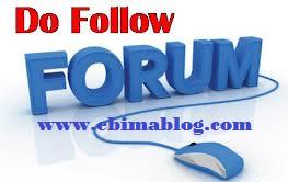 dofollow forum
