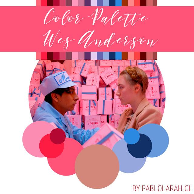 Wes Anderson: Color Palettes