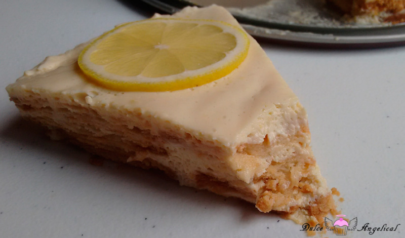 Receta de la carlota limón fácil
