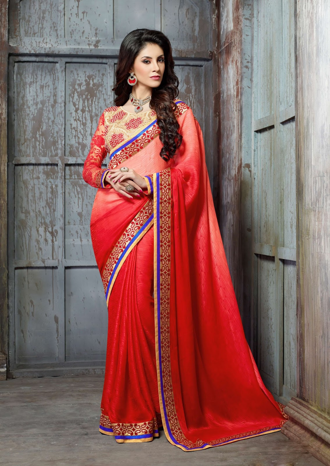 Lavaniya – Latest Unique Collection Designer Saree Buy Online