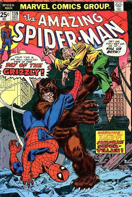 Amazing Spider-Man #139, first ever appearance of the Grizzly