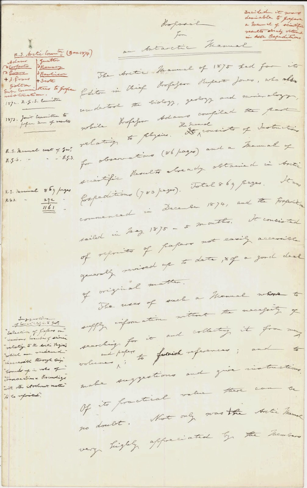 A page of handwritten text.