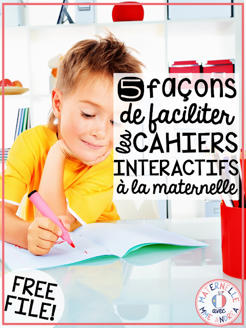 Been wanting to give interactif notebooks (les cahiers interactifs) a go in your French primary classroom, but not sure where to begin? Check out this blog post for 5 ways to make it easier! After reading, you will be better able to make the most out of your interactive notebooks, have the preparation go more smoothly/efficiently, and experience less mess!