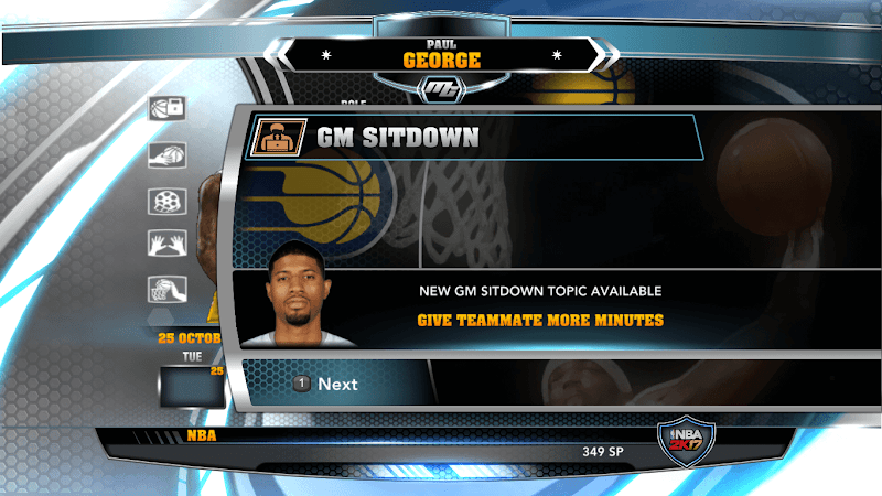NBA 2k14 MyCareer Mod : Paul George - hoopsvilla