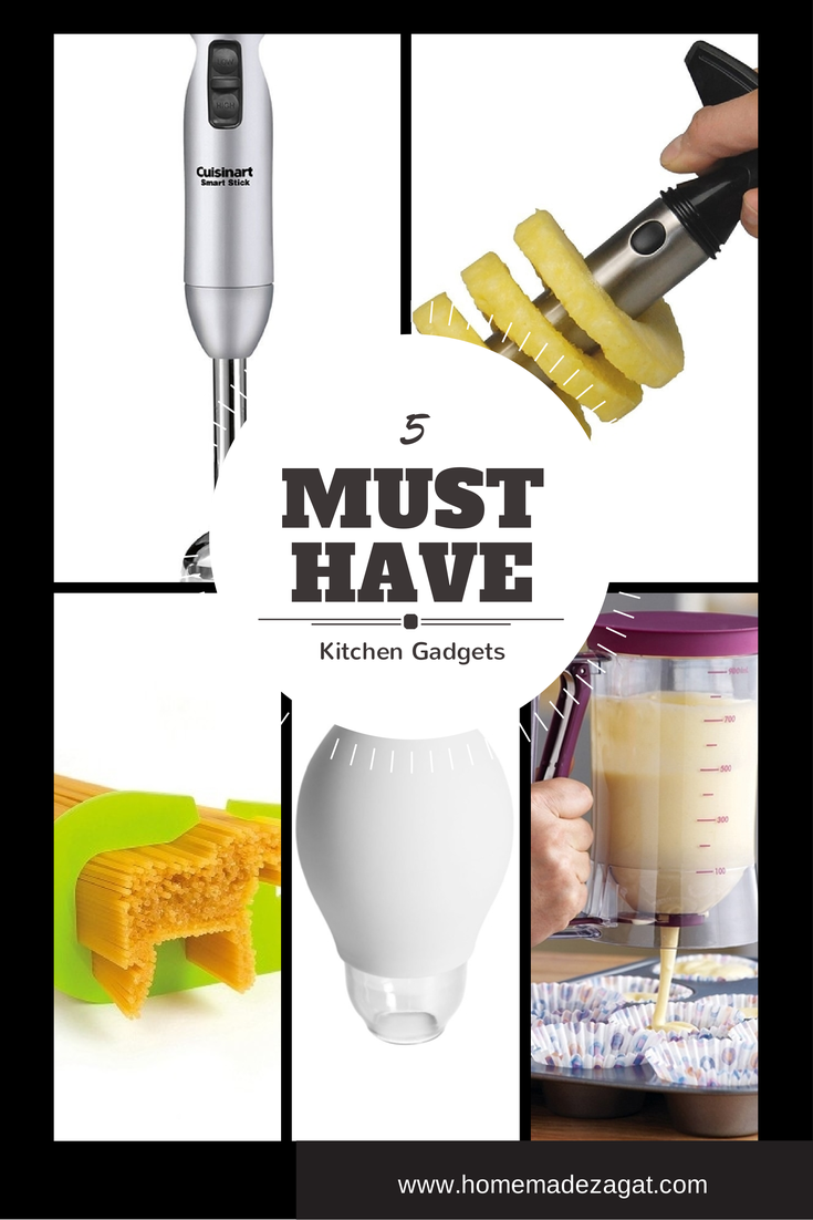 "5 ""Must Get"" Kitchen Gadgets"
