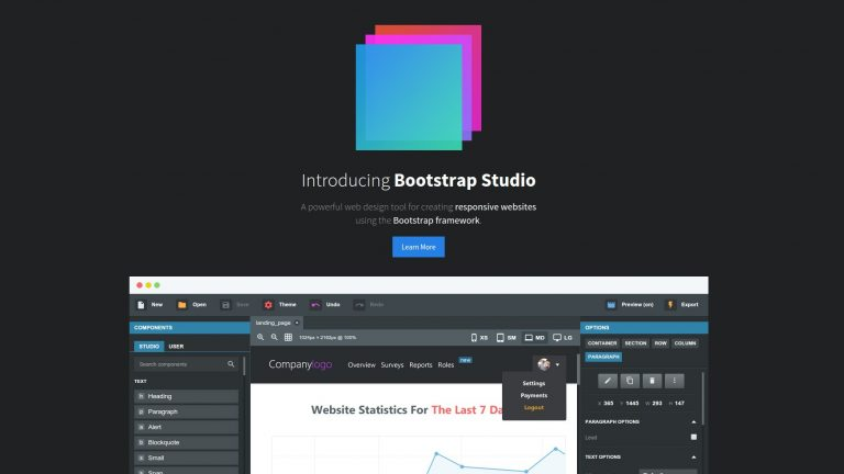 bootstrap studio free download for windows 7 64 bit