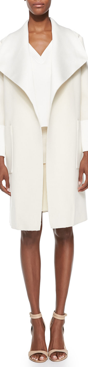 Adam Lippes Oversized Collar Coat