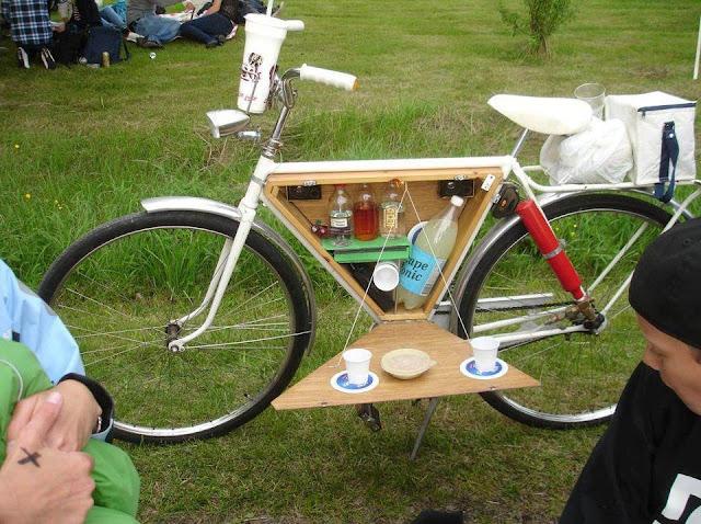 Велосипедный бардачок своими руками
