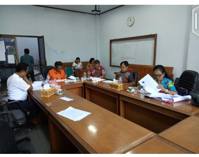 DPRD Tana Toraja Bahas Penyerapan Anggaran OPD Tana Toraja yang Tidak Mencapai Target