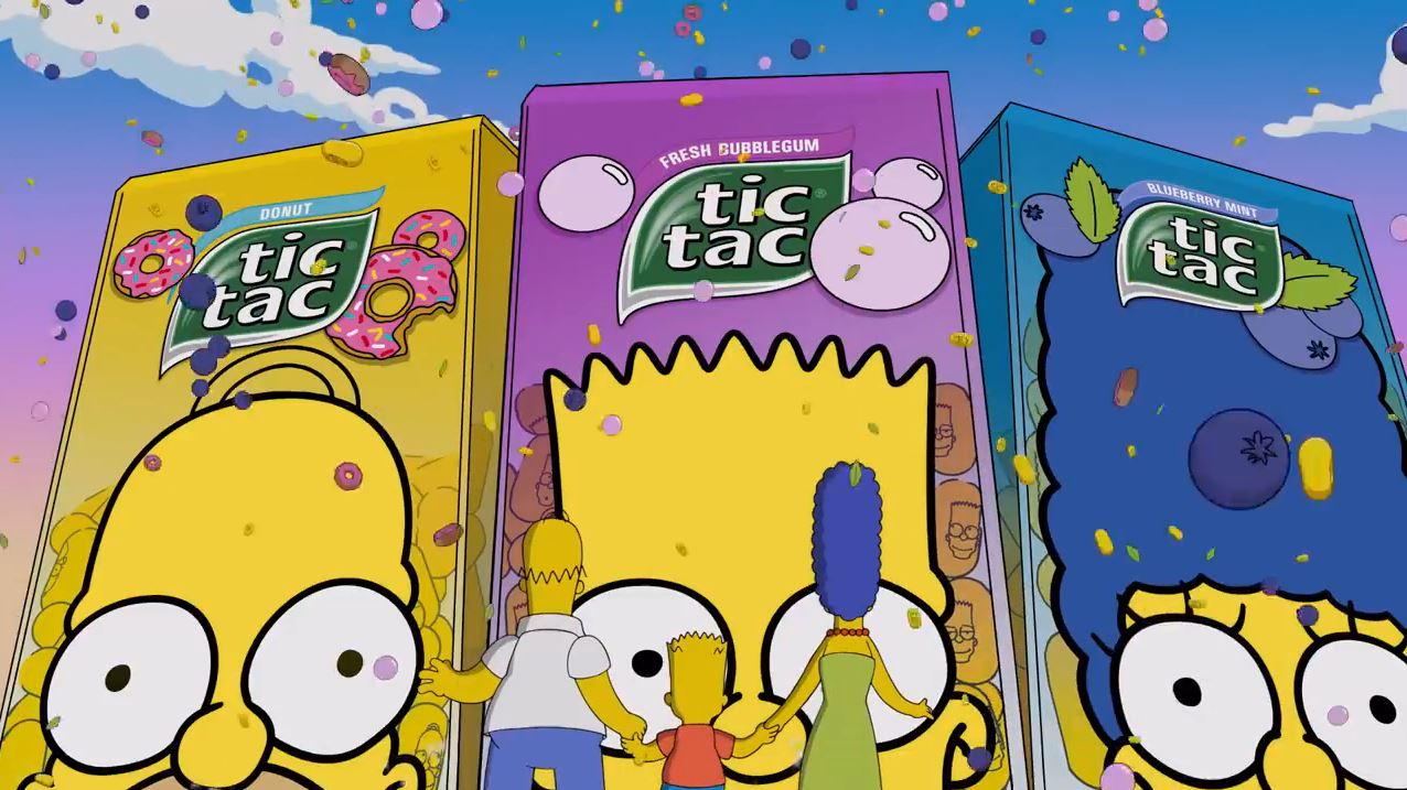 Canzone Tic Tac dei Simpson Pubblicità | Musica spot Settembre 2016