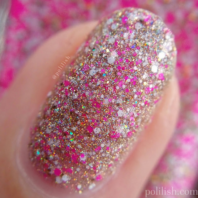 Glam Polish 'Lanikai Dreaming' macro swatch | polilish