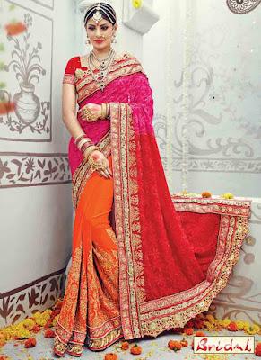 Latest-unique-indian-designer-bridal-saree-collection-for-brides-9