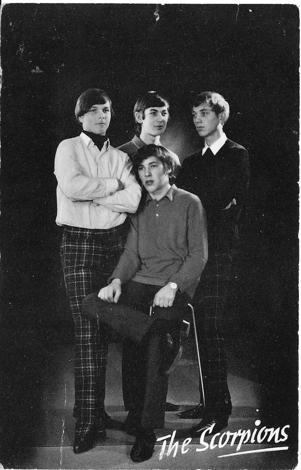 Rare Photos of The Scorpions in Their First Days in 1965 ... | 1026 x 1600 jpeg 518kB