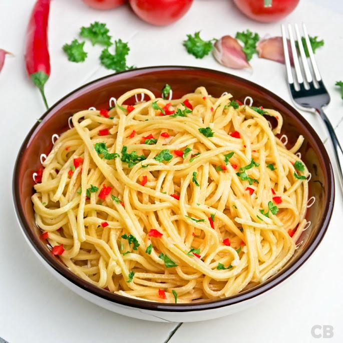 Recept Spaghetti aglio, olio e peperoncino