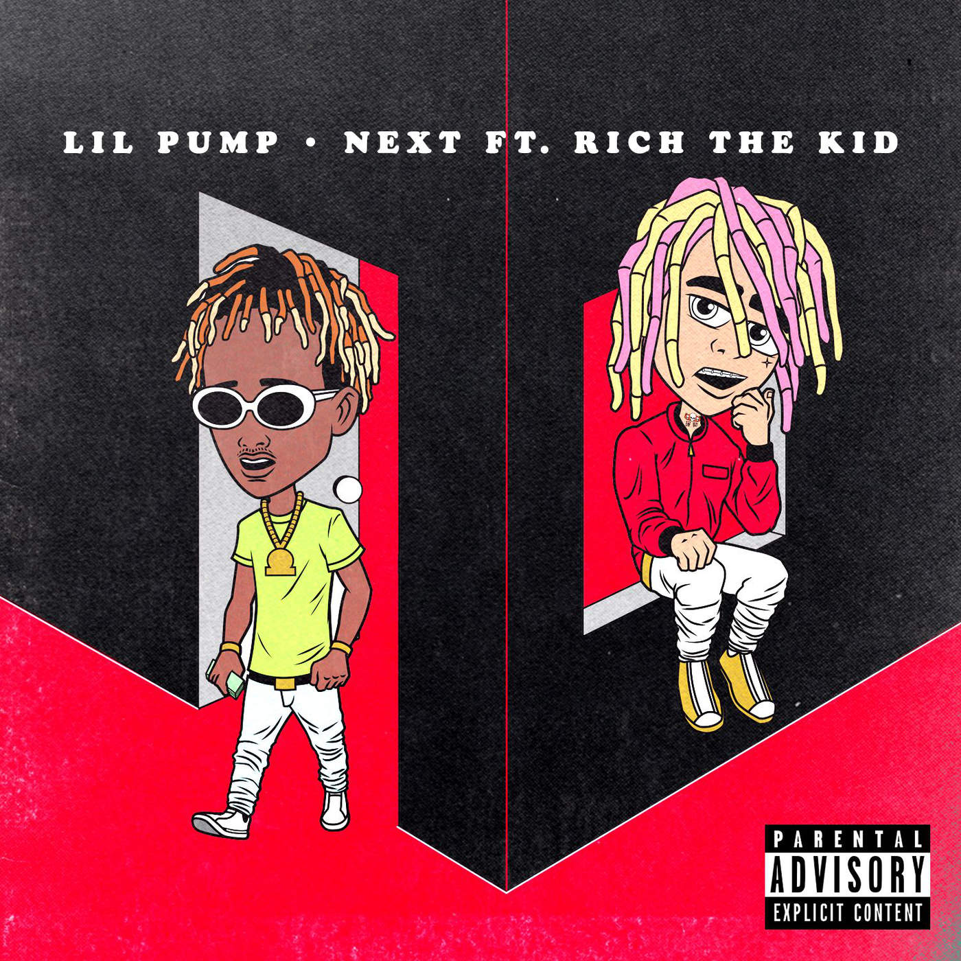 Lil Pump - Next (feat. Rich the Kid) - Single Cover