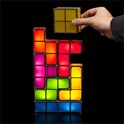 Tetris LED Lamp
