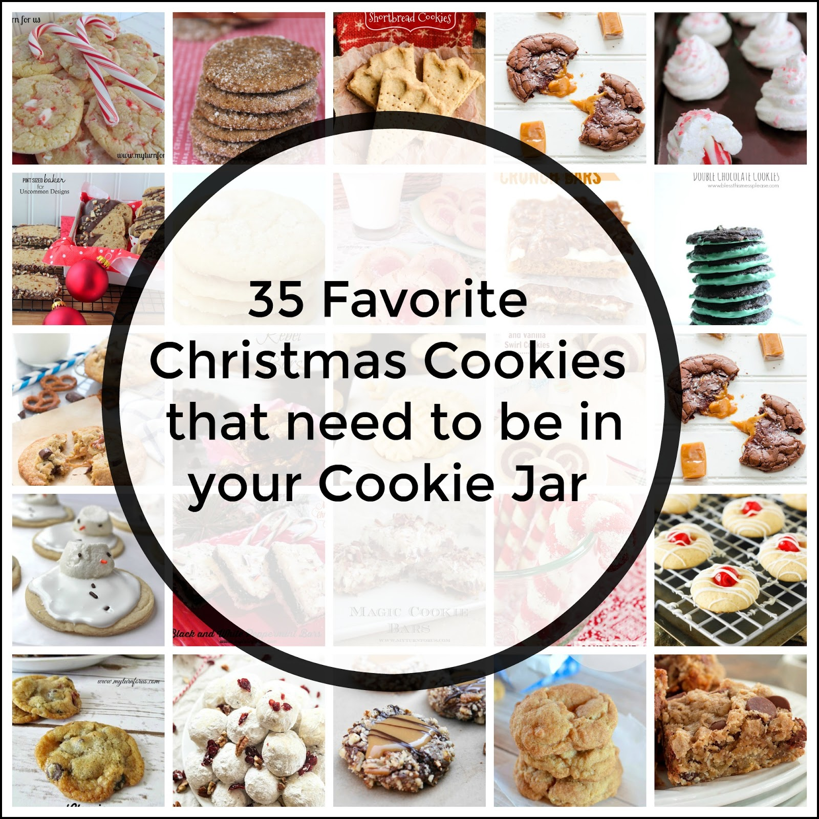 Favorite Christmas Cookies that need to be in your cookie jar - My ...