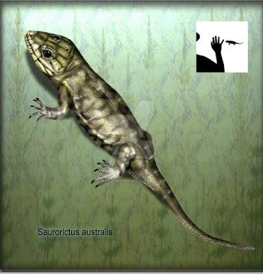 permian reptils