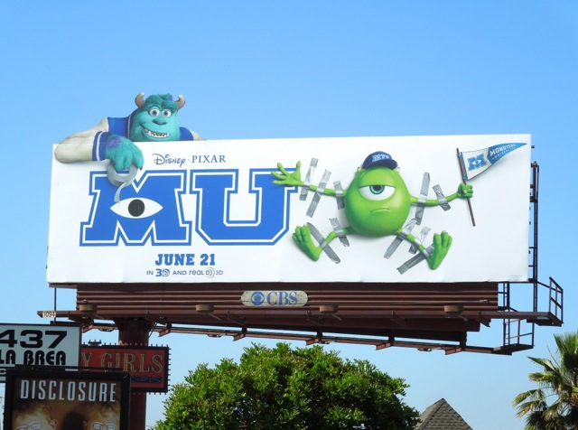 Monsters University special extension billboard