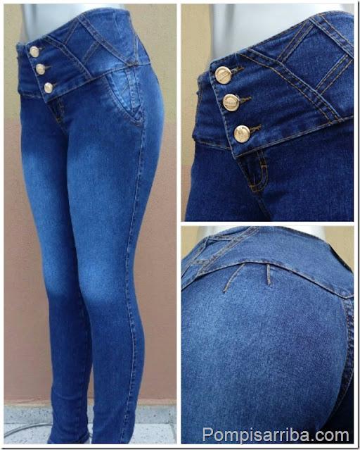 Venta de jeans de Moda corte Colombiano 2021