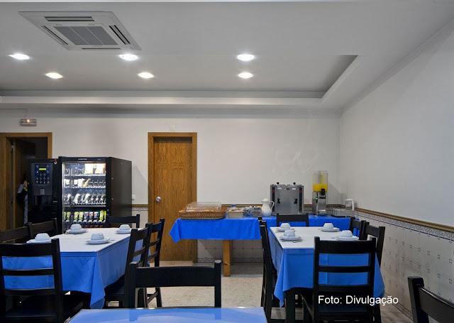 Salão de refeições do Hotel Portuense, Lisboa