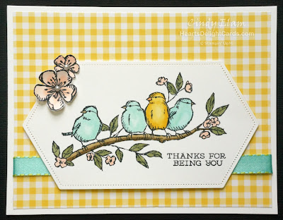 Heart's Delight Cards, Free As A Bird, 2019 AC Sneak Peek, Stampin Up!