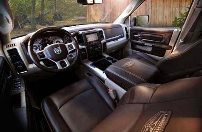 2016 Dodge Ram 2500 Wagon Interior