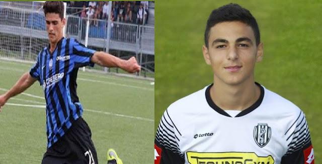 Rilind Nivokazi, right, and Alessandro Ahmetaj, left