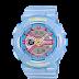 นาฬิกาข้อมือผู้หญิง CASIO สีฟ้า นาฬิกา BABY-G BA-110CA-2A สายเรซิน