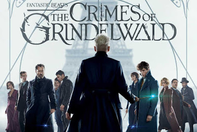 The-Crimes-of-Grindelwald-poster- Fantastic Beasts Review, Fantastic Beasts, Crimes Of Grindelwald Review,Crimes Of Grindelwald, Crimes Of Grindelwald Cast, Harry Potter Series, Harry Potter Sequel , Hollywood Movie Review,# Movie Review