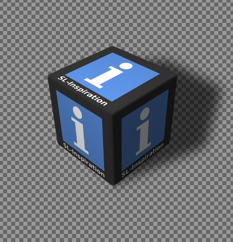 Creating A Cubed Icon Or Logo With Gimp: Cubed Logo