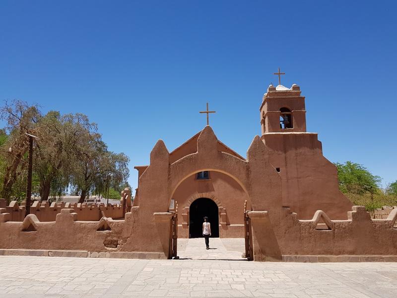 O que fazer no Atacama: 5 Igreja de San Pedro de Atacama