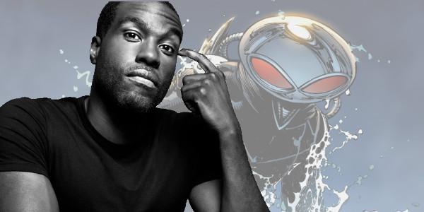Yahya Abdul-Mateen II Aquaman 2018 Black Manta