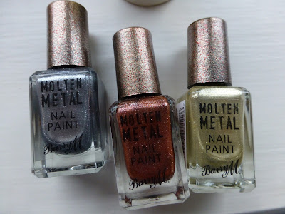 Barry M Molten Metal nail polish review