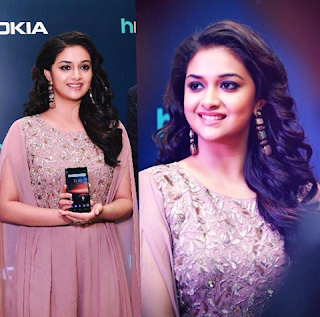 Keerthy Suresh at Nokia 7 Plus and Nokia 8 Sirocco Launch 1