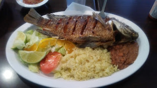 fried fish. mexican fish