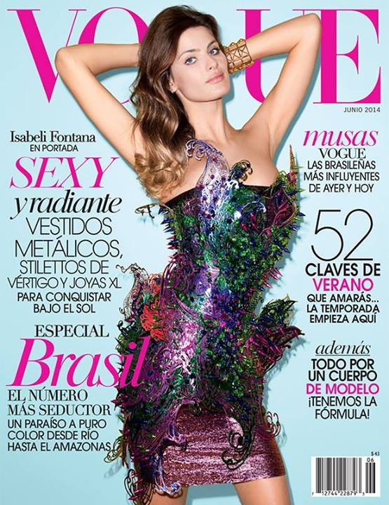 Isabeli Fontana for Vogue Mexico June 2014
