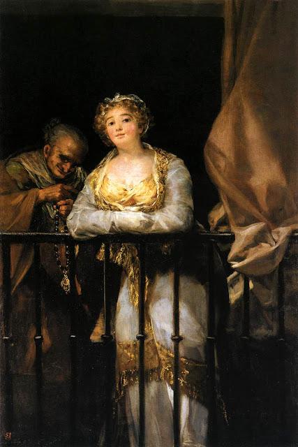 Goya, Maja y celestina