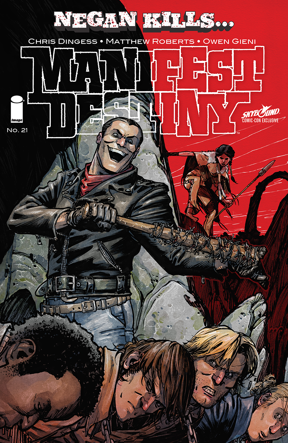 Cover Comic Book Thief of Thieves #33 Skybound Comic-Con Negan Kills..