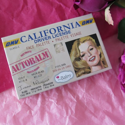 The Balm Autobalm California paletė